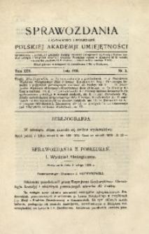 Sprawozdania z Czynności i Posiedzeń Polskiej Akademii Umiejętności, 1920, T. 25, Nr 2