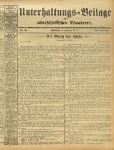 Unterhaltungs-Beilage zum Oberschlesischen Wanderer, 1913, Jg. 86, Nr. 29