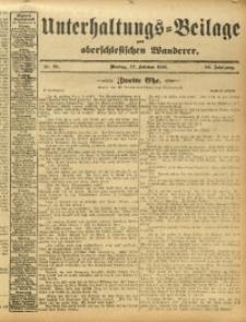Unterhaltungs-Beilage zum Oberschlesischen Wanderer, 1913, Jg. 86, Nr. 39