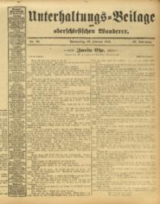 Unterhaltungs-Beilage zum Oberschlesischen Wanderer, 1913, Jg. 86, Nr. 48