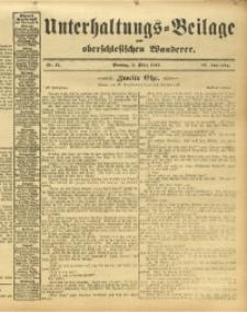 Unterhaltungs-Beilage zum Oberschlesischen Wanderer, 1913, Jg. 86, Nr. 51