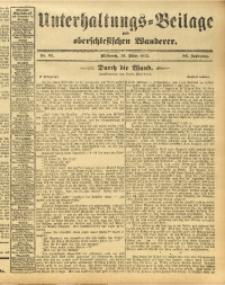 Unterhaltungs-Beilage zum Oberschlesischen Wanderer, 1913, Jg. 86, Nr. 65