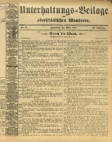 Unterhaltungs-Beilage zum Oberschlesischen Wanderer, 1913, Jg. 86, Nr. 71