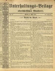 Unterhaltungs-Beilage zum Oberschlesischen Wanderer, 1913, Jg. 86, Nr. 72