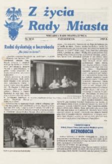 Z Życia Rady Miasta, 1995, nr 10 (12)