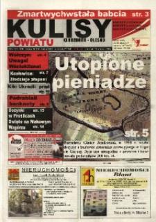 Kulisy Powiatu Kluczbork - Olesno 2004, nr 37 (49).