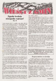 Wieści z Gmin, [1996, nr 1 (88)]