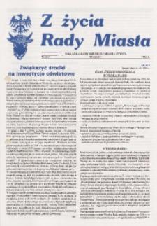 Z Życia Rady Miasta, 1996, nr 3 (17)