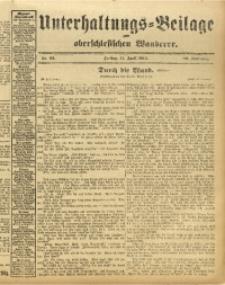 Unterhaltungs-Beilage zum Oberschlesischen Wanderer, 1913, Jg. 86, Nr. 82