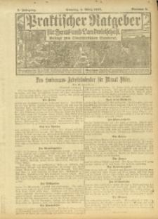 Der praktische Ratgeber für Haus- und Landwirtschaft, 1917, Jg. 8, Nr. 3