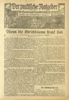 Der praktische Ratgeber für Haus- und Landwirtschaft, 1926