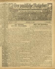 Der praktische Ratgeber für Haus- und Landwirtschaft, 1913, Jg. 5, Nr. 10