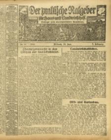 Der praktische Ratgeber für Haus- und Landwirtschaft, 1913, Jg. 5, Nr. 11