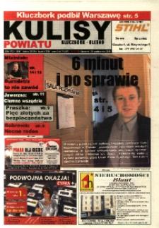 Kulisy Powiatu Kluczbork - Olesno 2004, nr 43 (55).