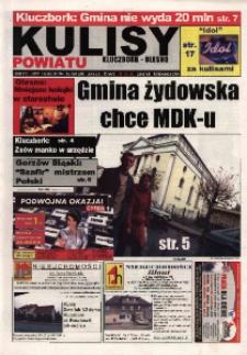 Kulisy Powiatu Kluczbork - Olesno 2004, nr 46 (58).