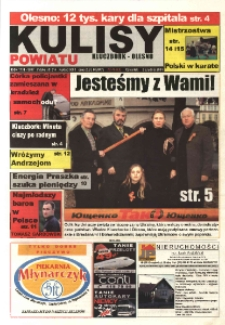 Kulisy Powiatu Kluczbork - Olesno 2004, nr 48 (60).
