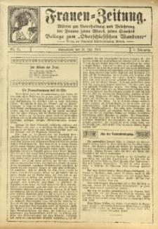 Frauen-Zeitung, 1911, Jg. 4, Nr. 11
