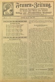 Frauen-Zeitung, 1915, Jg. 8, Nr. 7