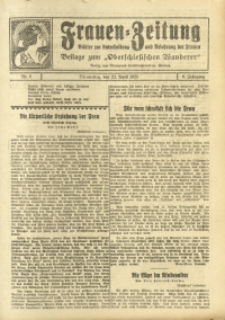 Frauen-Zeitung, 1925, Jg. 9, Nr. 6