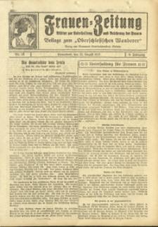 Frauen-Zeitung, 1925, Jg. 9, Nr. 10