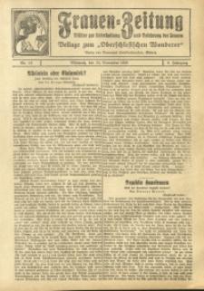 Frauen-Zeitung, 1925, Jg. 9, Nr. 15