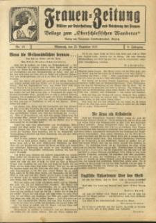 Frauen-Zeitung, 1925, Jg. 9, Nr. 18