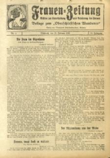 Frauen-Zeitung, 1926, Jg. 10, Nr. 4