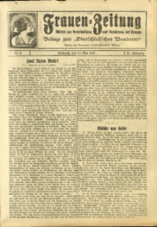 Frauen-Zeitung, 1926, Jg. 10, Nr. 9