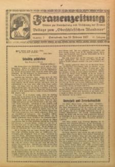 Frauenzeitung, 1927, Jg. 11, Nr. 3