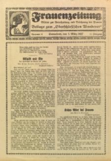 Frauenzeitung, 1927, Jg. 11, Nr. 4