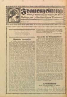 Frauenzeitung, 1927, Jg. 11, Nr. 28