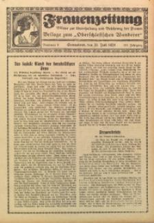 Frauenzeitung, 1928, Jg. 100, Nr. 9