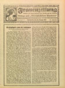 Frauenzeitung, 1929, Jg. 101/102, Nr. 9