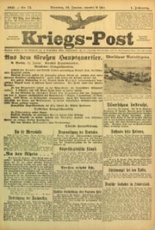 Kriegs-Post, 1915, Jg. 1, nr 75
