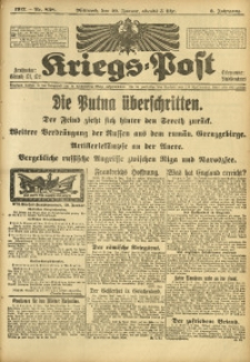 Kriegs-Post, 1917, Jg. 3, Nr. 838