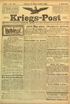 Kriegs-Post, 1915, Jg. 1, nr 168