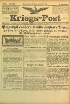 Kriegs-Post, 1915, Jg. 1, nr 229