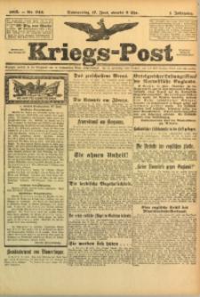 Kriegs-Post, 1915, Jg. 1, nr 243