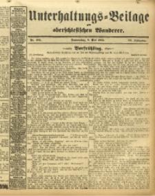 Unterhaltungs-Beilage zum Oberschlesischen Wanderer, 1913, Jg. 86, Nr. 104