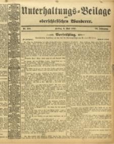 Unterhaltungs-Beilage zum Oberschlesischen Wanderer, 1913, Jg. 86, Nr. 105
