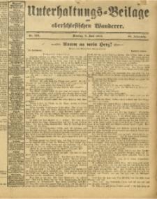 Unterhaltungs-Beilage zum Oberschlesischen Wanderer, 1913, Jg. 86, Nr. 129