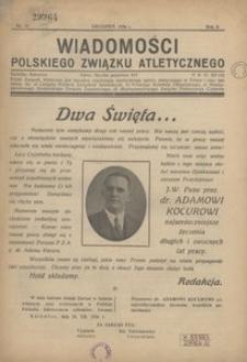 Wiadomości Polskiego Związku Atletycznego, 1936, R. 2, nr 15