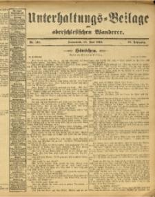 Unterhaltungs-Beilage zum Oberschlesischen Wanderer, 1913, Jg. 86, Nr. 146