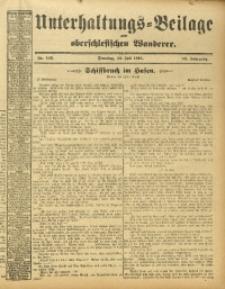 Unterhaltungs-Beilage zum Oberschlesischen Wanderer, 1913, Jg. 86, Nr. 166