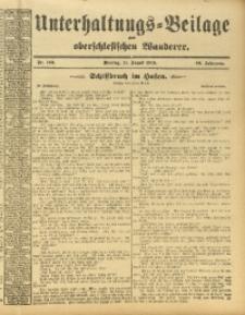 Unterhaltungs-Beilage zum Oberschlesischen Wanderer, 1913, Jg. 86, Nr. 183