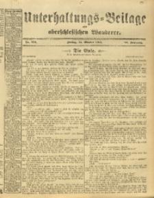 Unterhaltungs-Beilage zum Oberschlesischen Wanderer, 1913, Jg. 86, Nr. 253