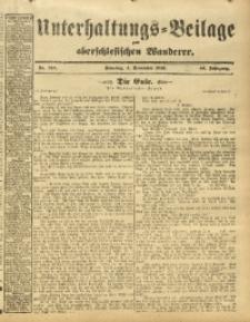 Unterhaltungs-Beilage zum Oberschlesischen Wanderer, 1913, Jg. 86, Nr. 255