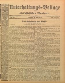 Unterhaltungs-Beilage zum Oberschlesischen Wanderer, 1915, Jg. 88, Nr. 59