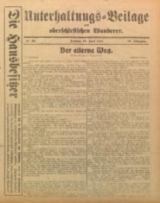 Unterhaltungs-Beilage zum Oberschlesischen Wanderer, 1915, Jg. 88, Nr. 86
