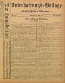 Unterhaltungs-Beilage zum Oberschlesischen Wanderer, 1915, Jg. 88, Nr. 147